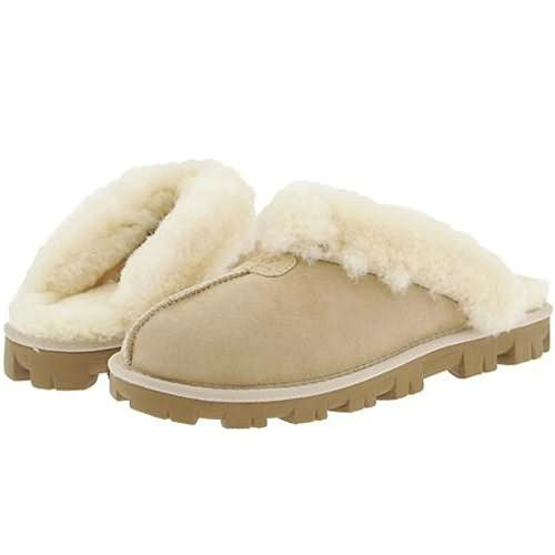Coquette S N 5125 Ugg Slippers - Sand