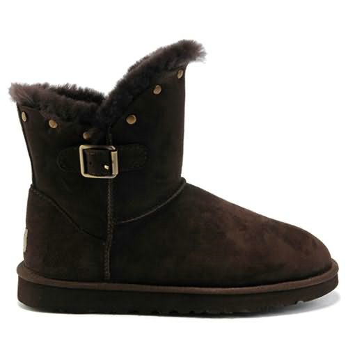 Bailey Button 6802 Ugg Boots - Chocolate