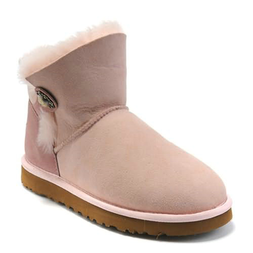 Bailey Button 6828 Ugg Boots - Pink